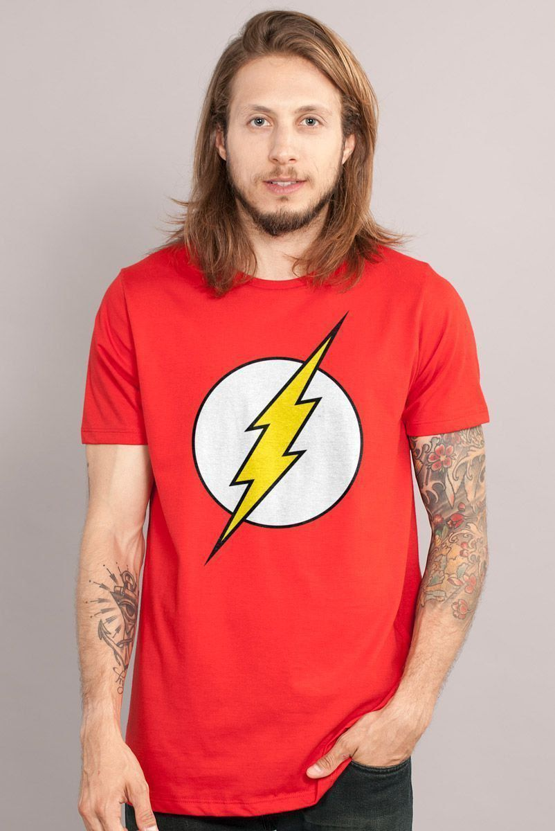 Camiseta Masculina The Flash Logo  - bandUP Store Marketplace