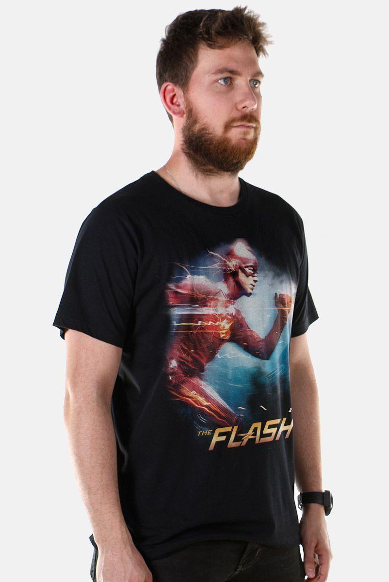 Camiseta Masculina The Flash Serie Running  - bandUP Store Marketplace