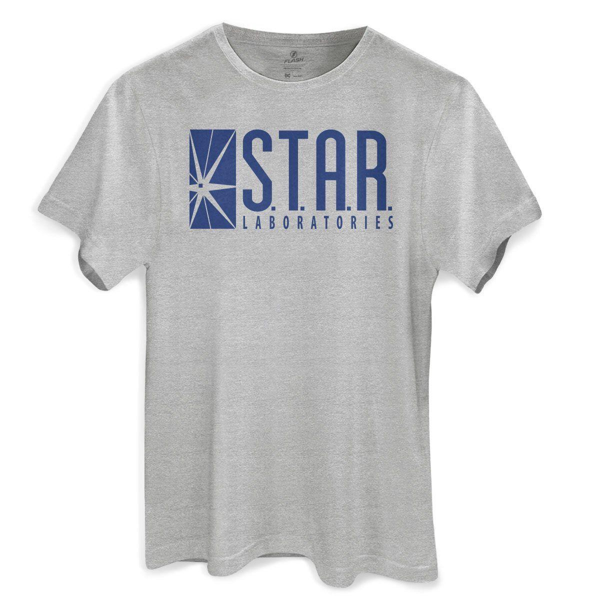 Camiseta Masculina The Flash STAR Labs  - bandUP Store Marketplace