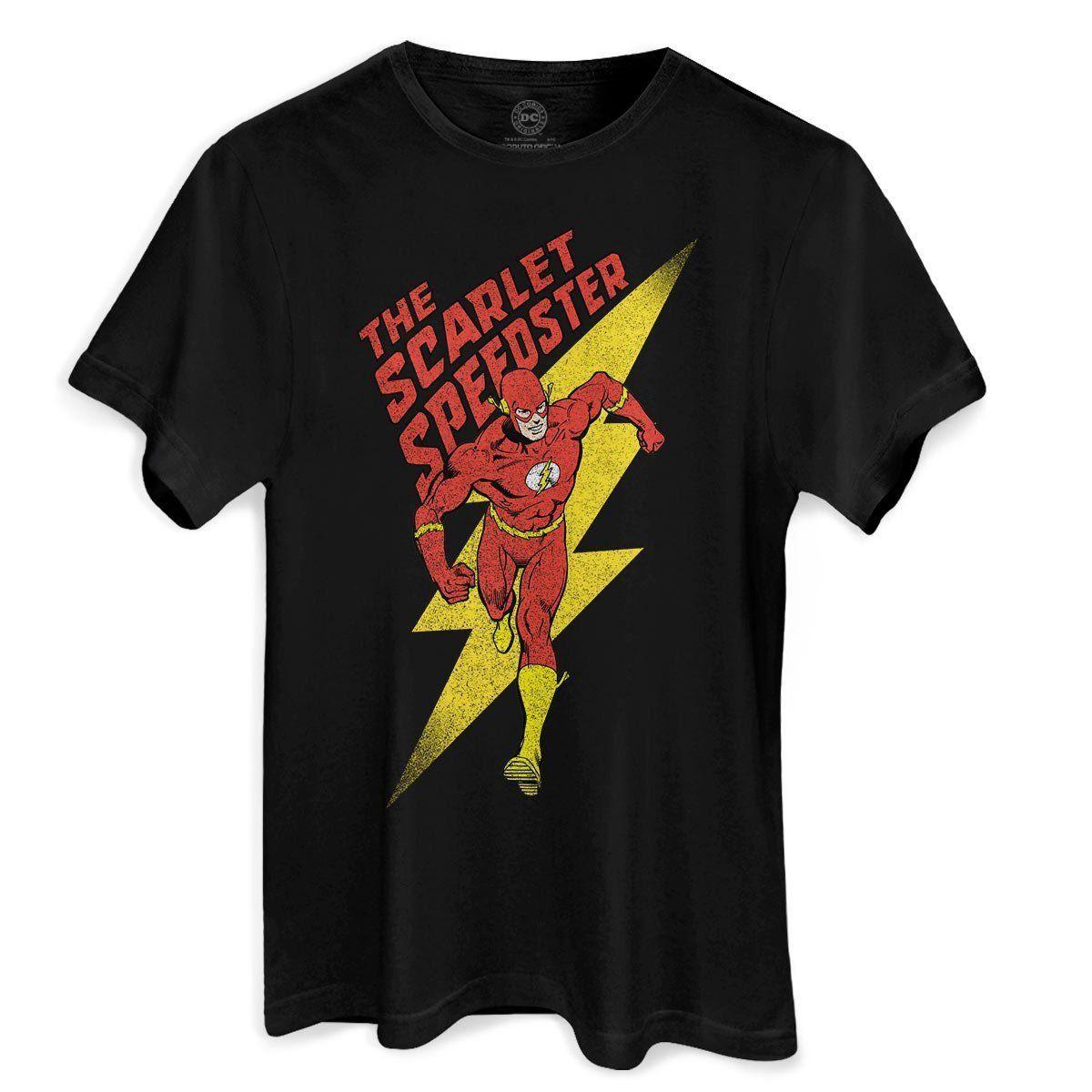 Camiseta Masculina The Flash The Scarlet Oficial  - bandUP Store Marketplace