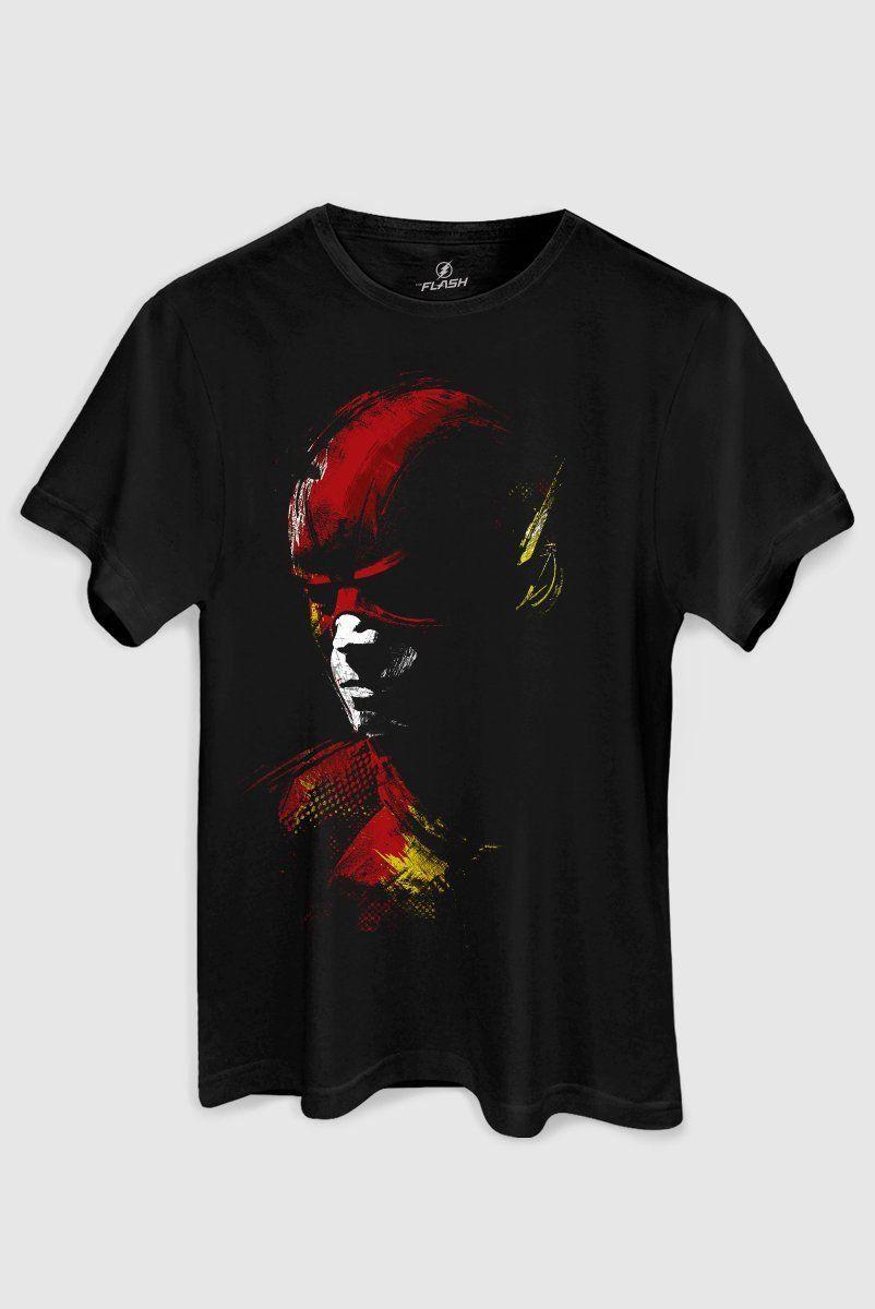 Camiseta Masculina The Flash Tracing  - bandUP Store Marketplace