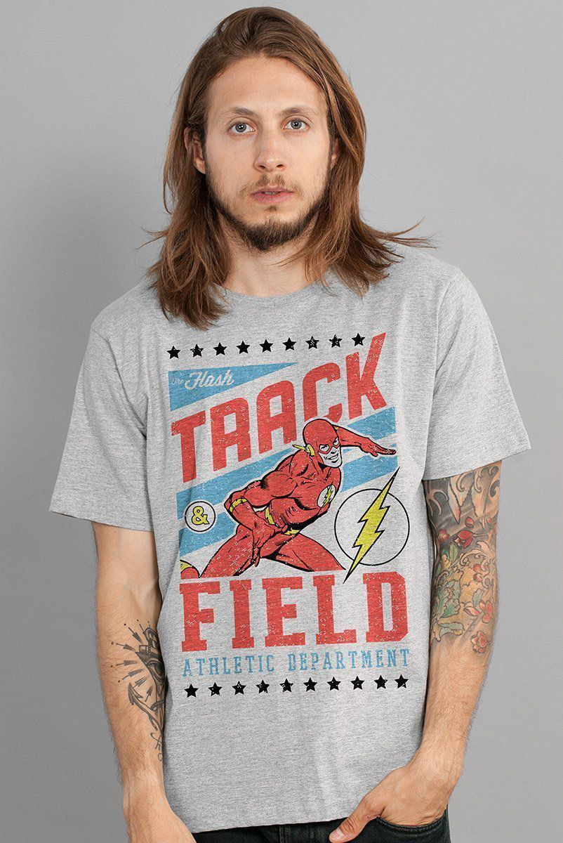 Camiseta Masculina The Flash Track & Field  - bandUP Store Marketplace