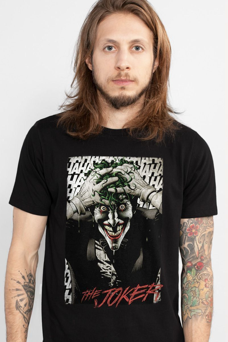 Camiseta Masculina The Joker A Piada Mortal Black  - bandUP Store Marketplace