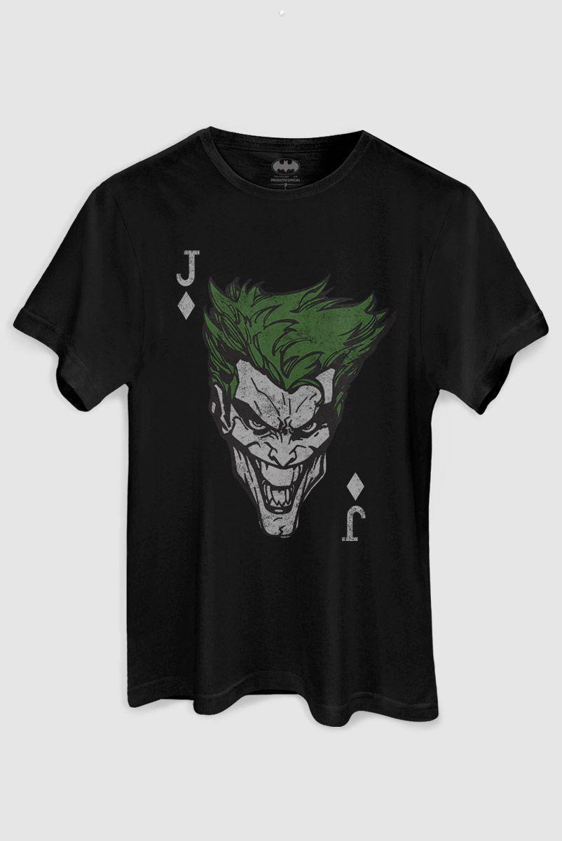 Camiseta Masculina The Joker Card  - bandUP Store Marketplace