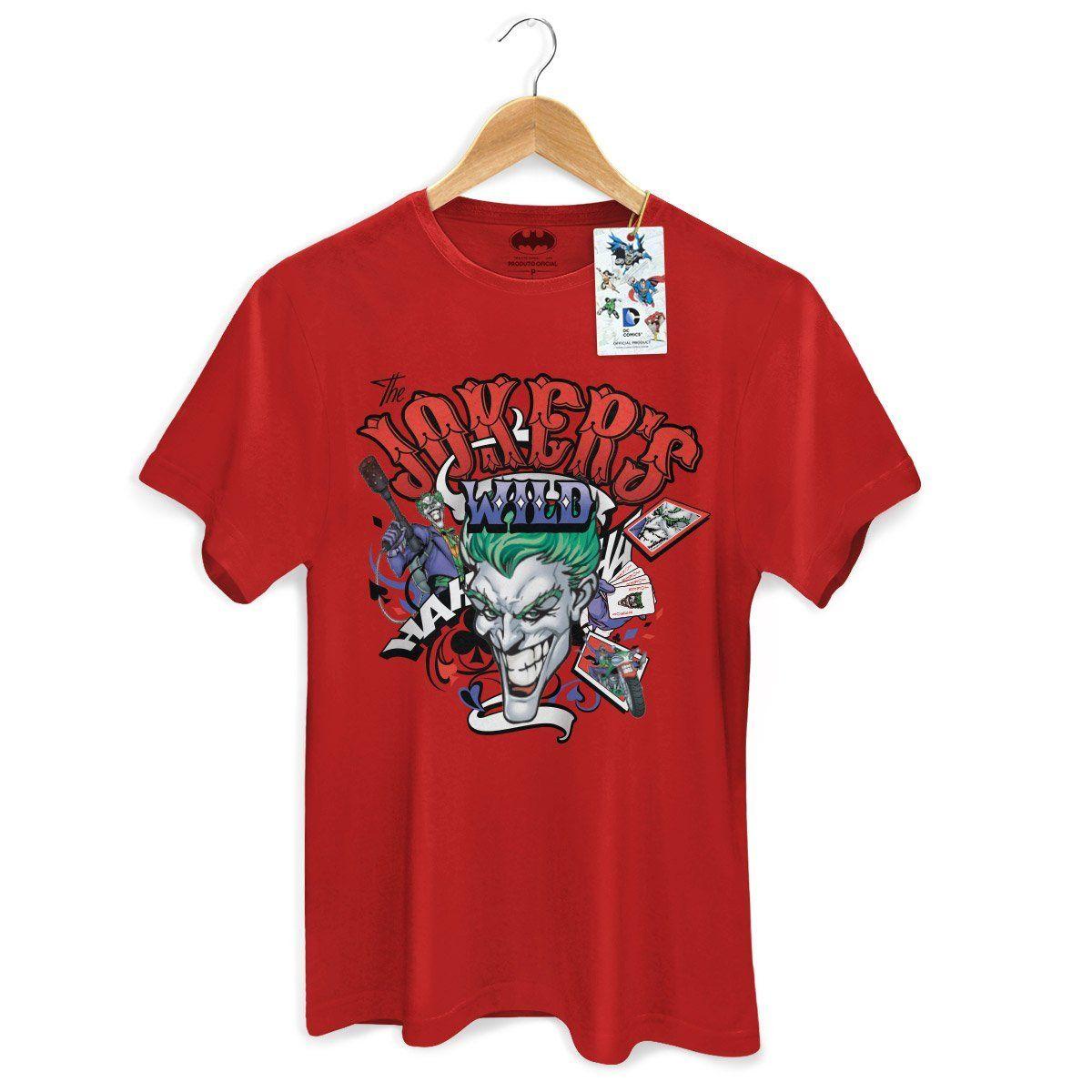 Camiseta Masculina The Joker Wild Oficial  - bandUP Store Marketplace