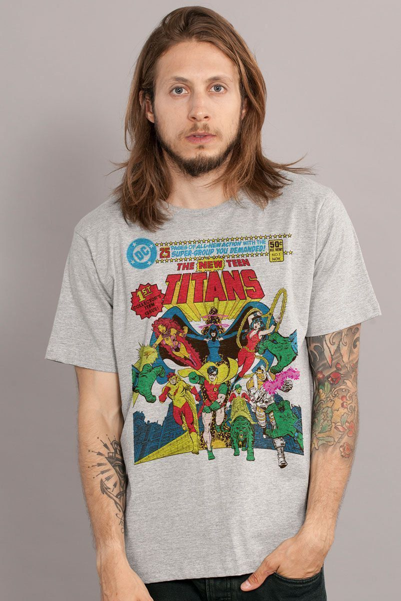 Camiseta Masculina The Teen Titans  - bandUP Store Marketplace