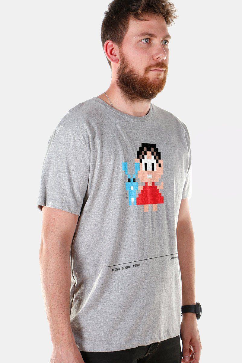 Camiseta Masculina Turma da Mônica 50 Anos Modelo 6 Anos 80  - bandUP Store Marketplace
