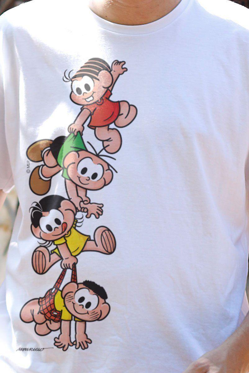 Camiseta Masculina Turma Da Mônica Kids A Turma  - bandUP Store Marketplace