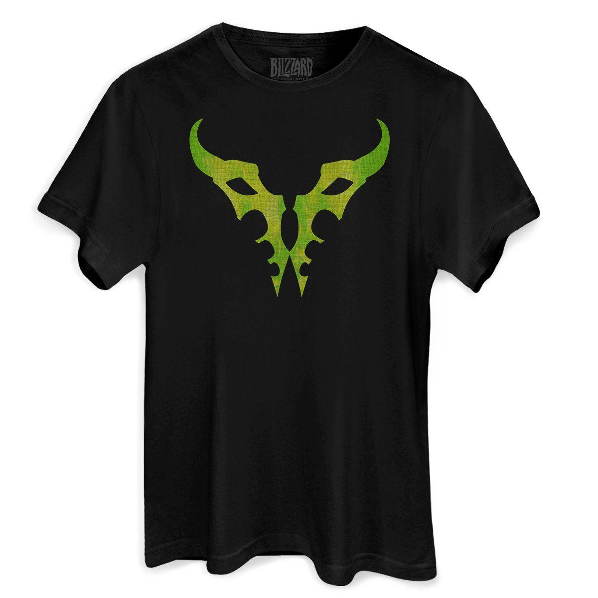Camiseta Masculina World of Warcraft Burning Legion  - bandUP Store Marketplace