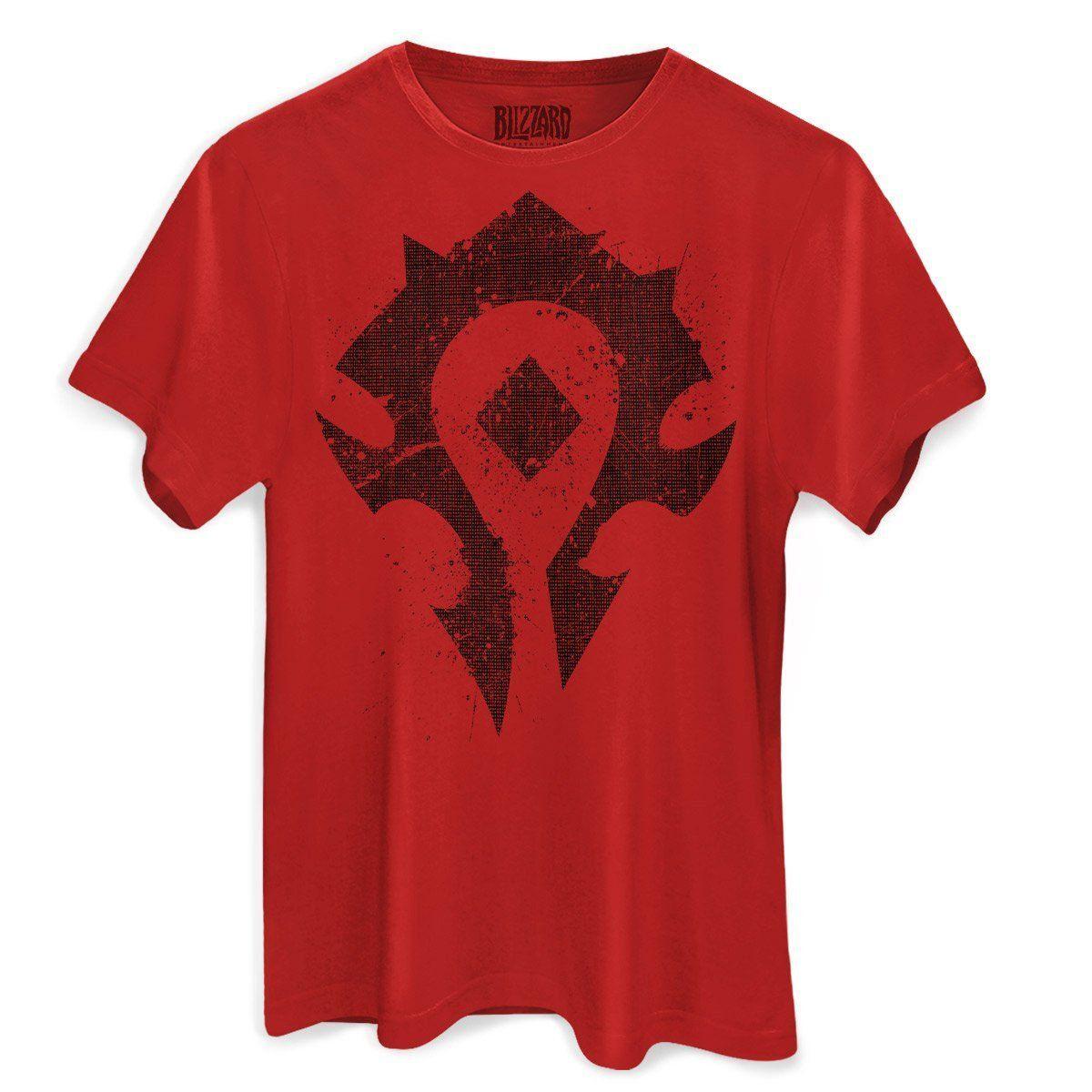 Camiseta Masculina World of Warcraft Horda  - bandUP Store Marketplace