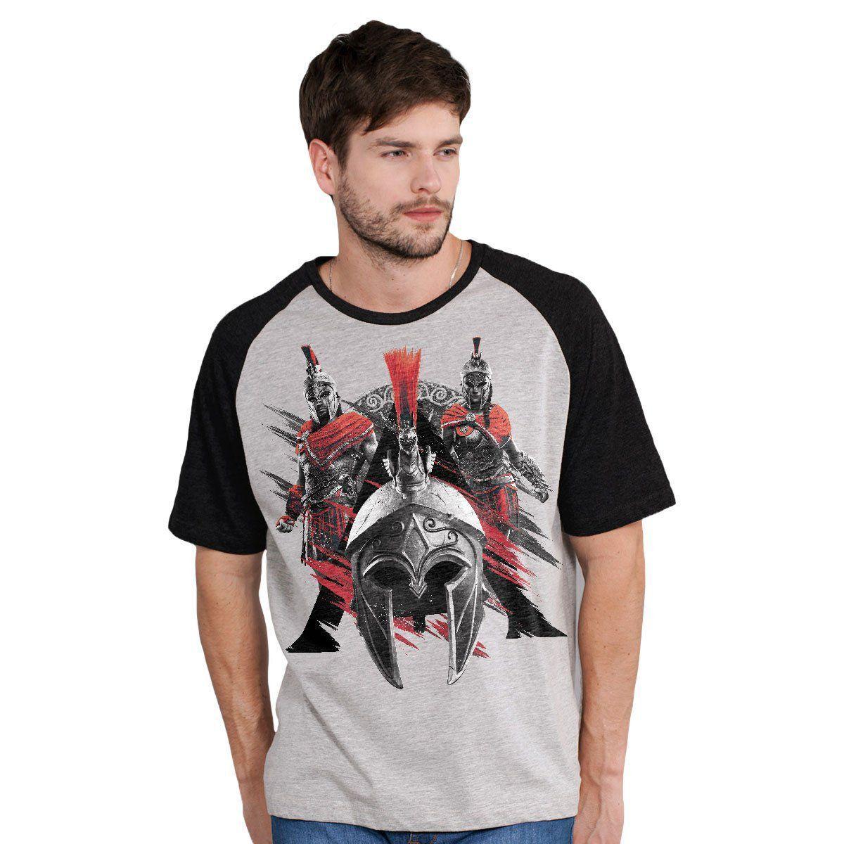 Camiseta Raglan Masculina Assassin