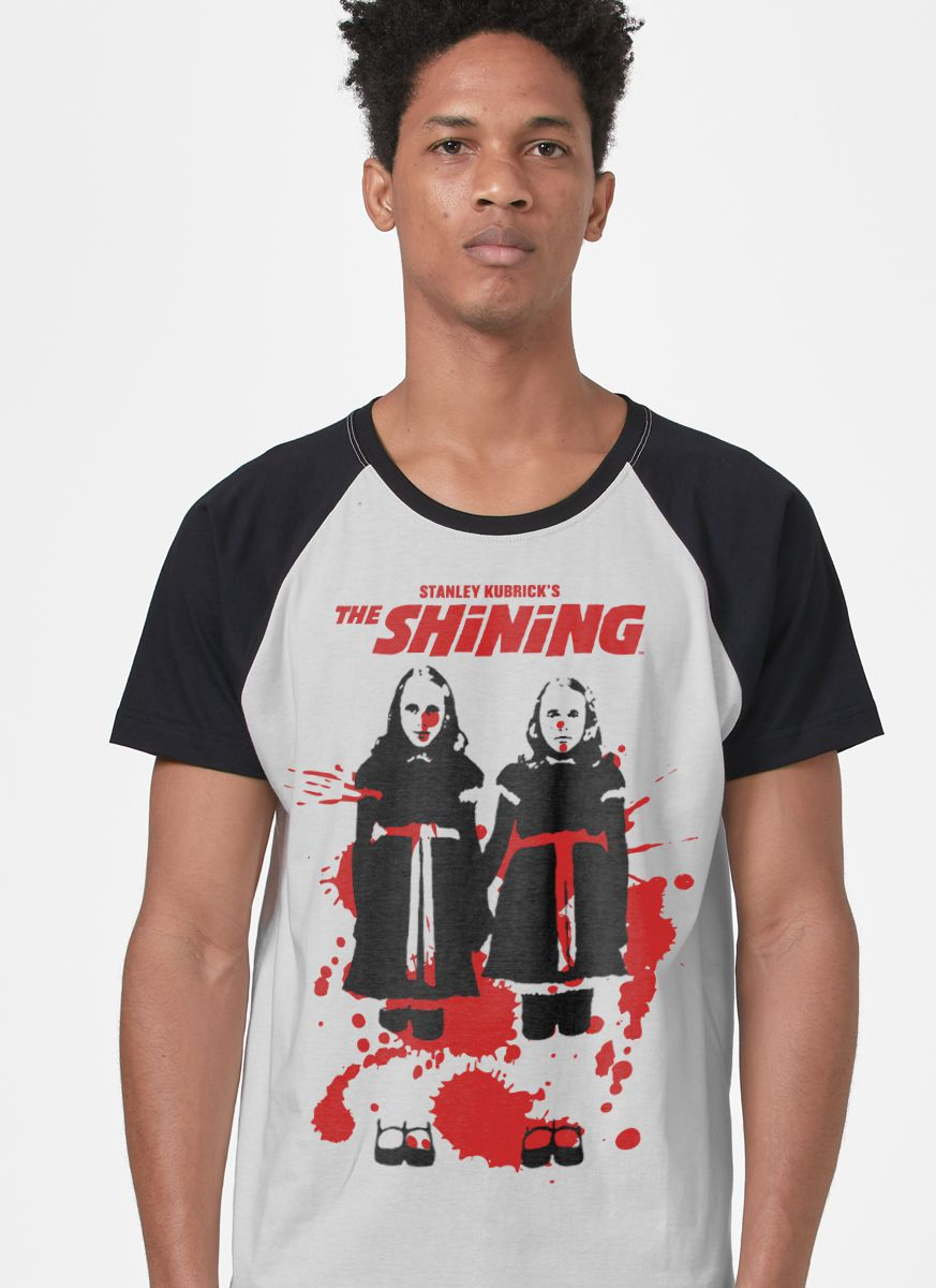 Camiseta Raglan Masculina O Iluminado  - bandUP Store Marketplace