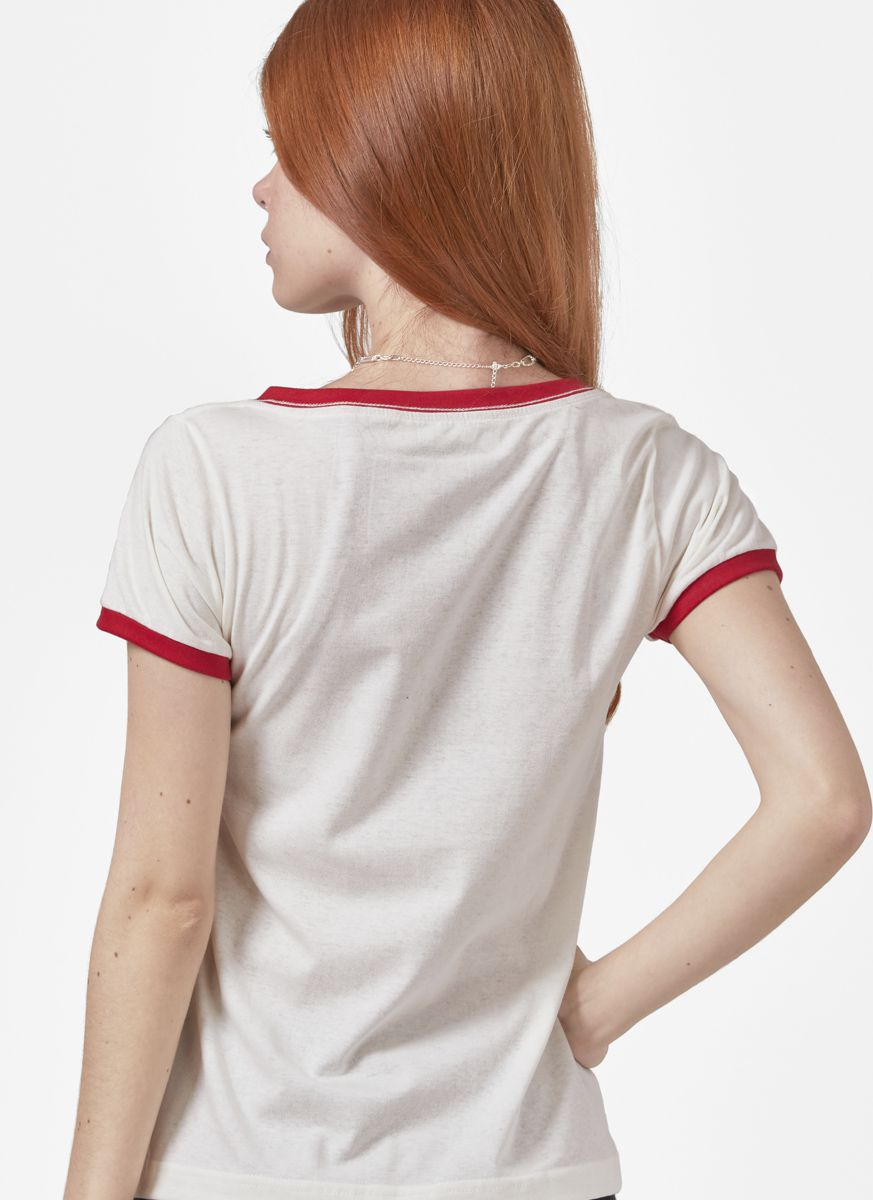 Camiseta Ringer Feminina Onde está o Wally?  - bandUP Store Marketplace