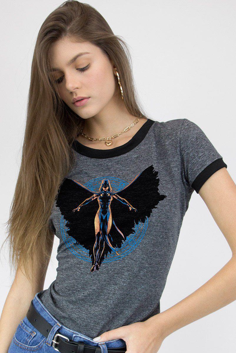 Camiseta Ringer Feminina Ravena  - bandUP Store Marketplace