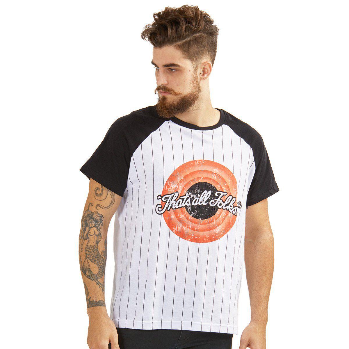 Camiseta Unissex Looney Tunes That´s All Folks  - bandUP Store Marketplace