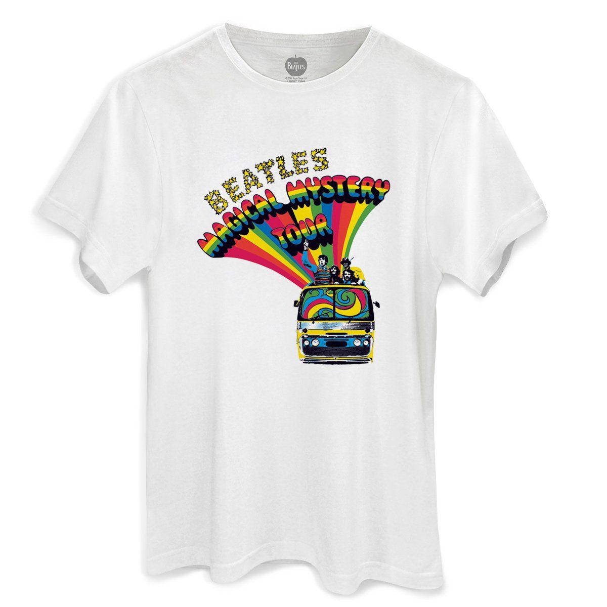 Camiseta Unissex The Beatles Bus Basic  - bandUP Store Marketplace