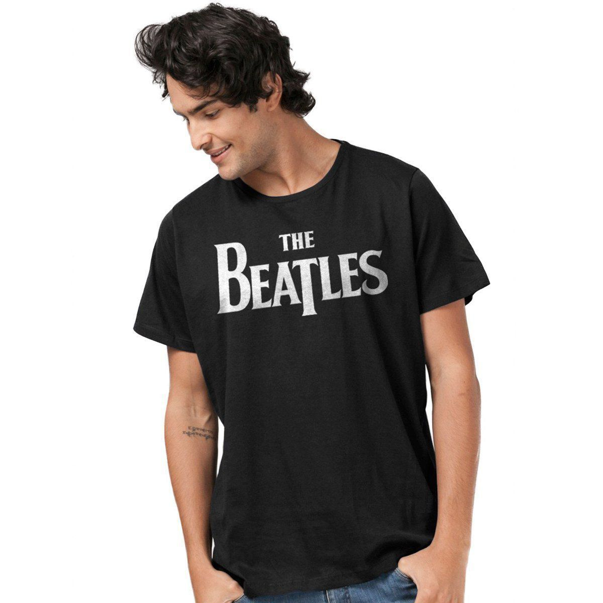 Camiseta Unissex The Beatles Classic Logo  - bandUP Store Marketplace