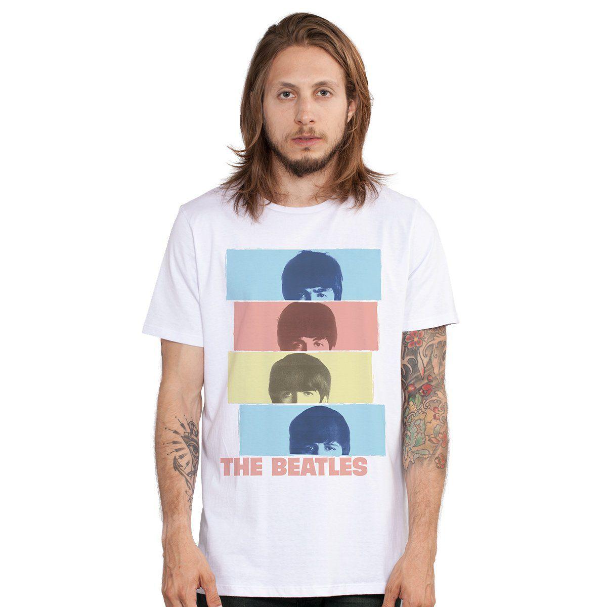Camiseta Unissex The Beatles Headshot  - bandUP Store Marketplace