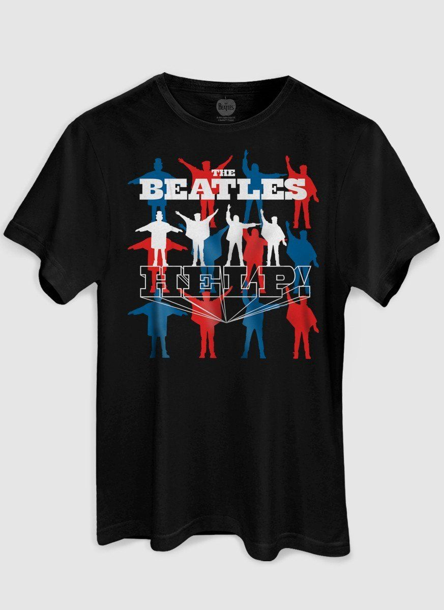 Camiseta Unissex The Beatles Help Oficial  - bandUP Store Marketplace