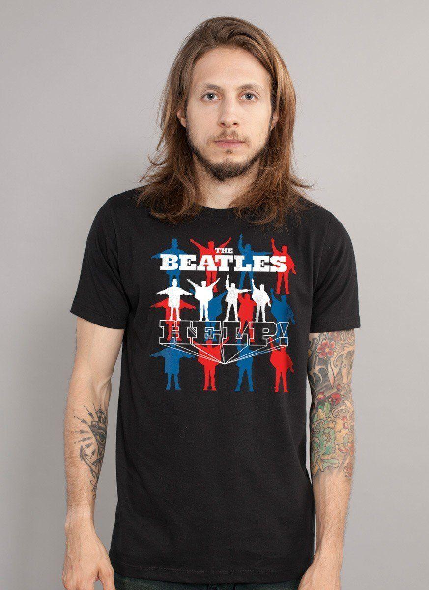 Camiseta Unissex The Beatles Help Oficial  - bandUP Store Marketplace