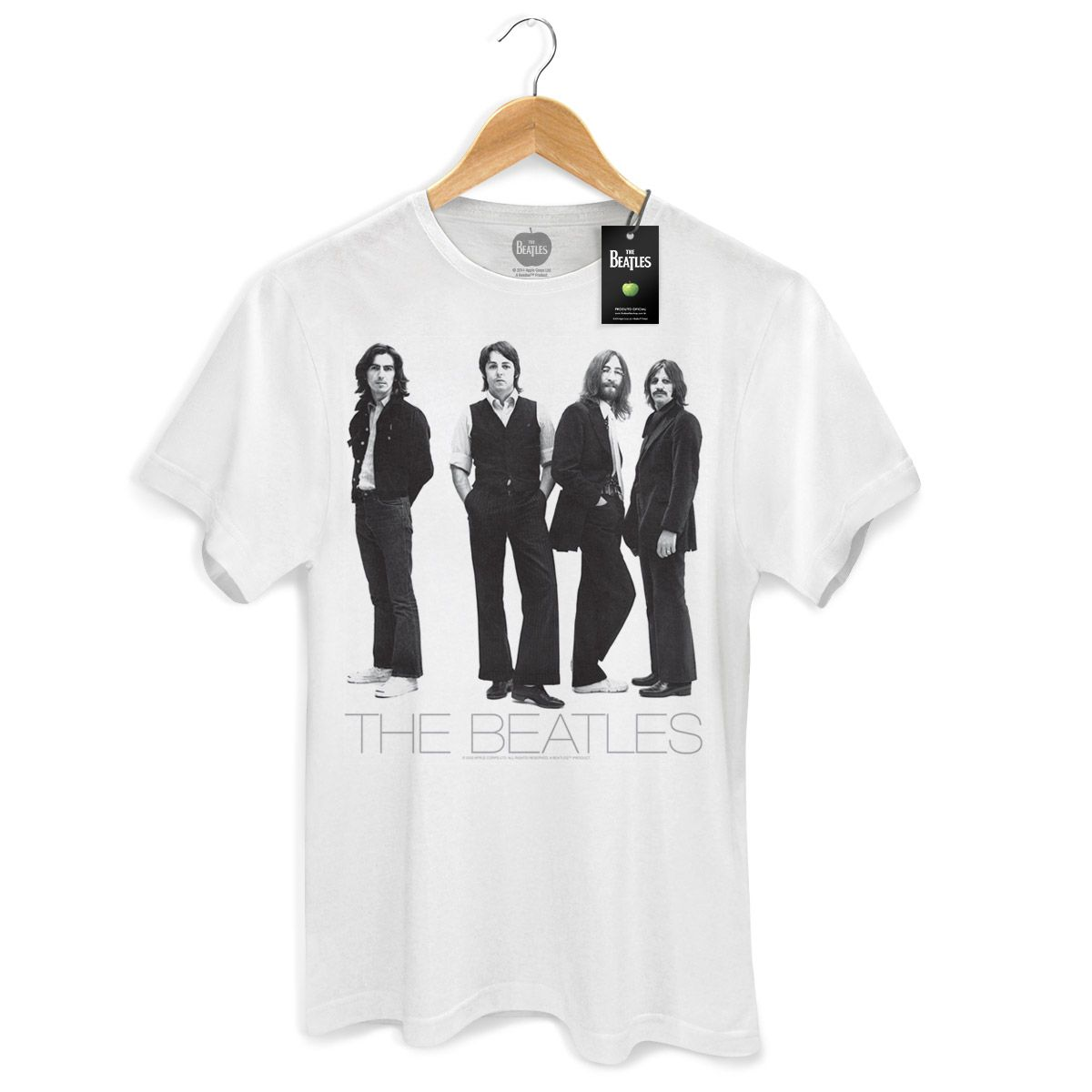Camiseta Unissex The Beatles White Album Basic  - bandUP Store Marketplace
