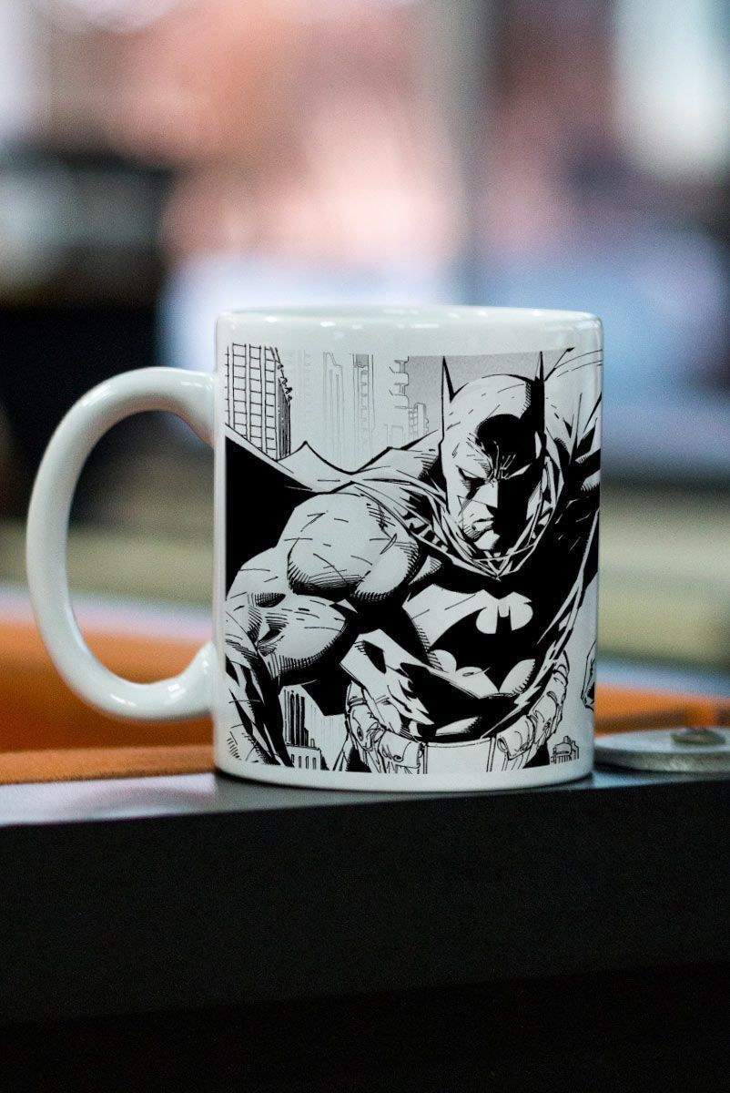 Caneca Batman Tracing Batman e Robin  - bandUP Store Marketplace