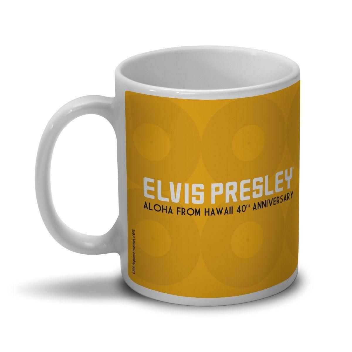 Caneca Elvis Aloha From Hawaii 40th Anniversary  - bandUP Store Marketplace