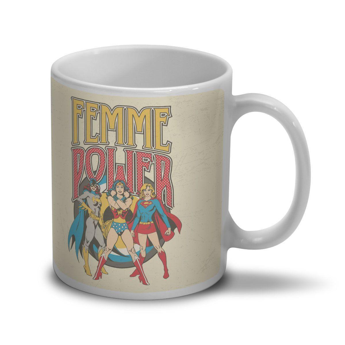 Caneca Power Girls Femme Power  - bandUP Store Marketplace