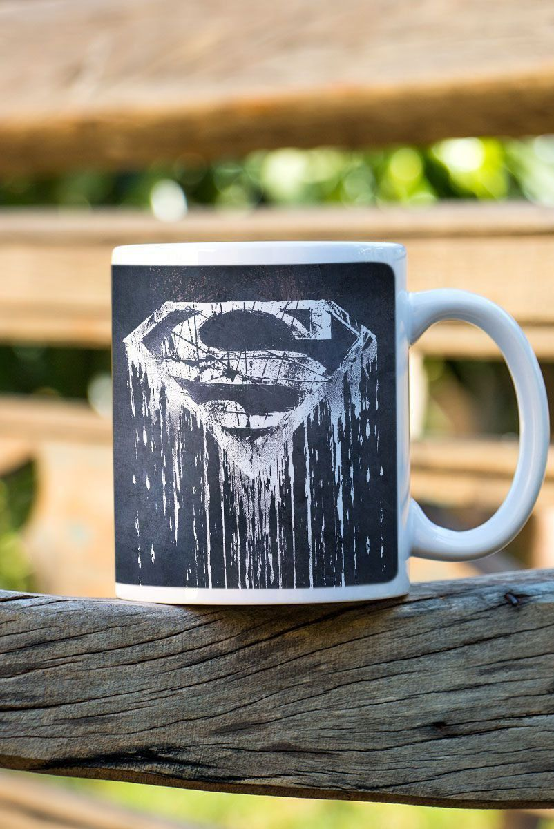 Caneca Superman Steel Melting  - bandUP Store Marketplace