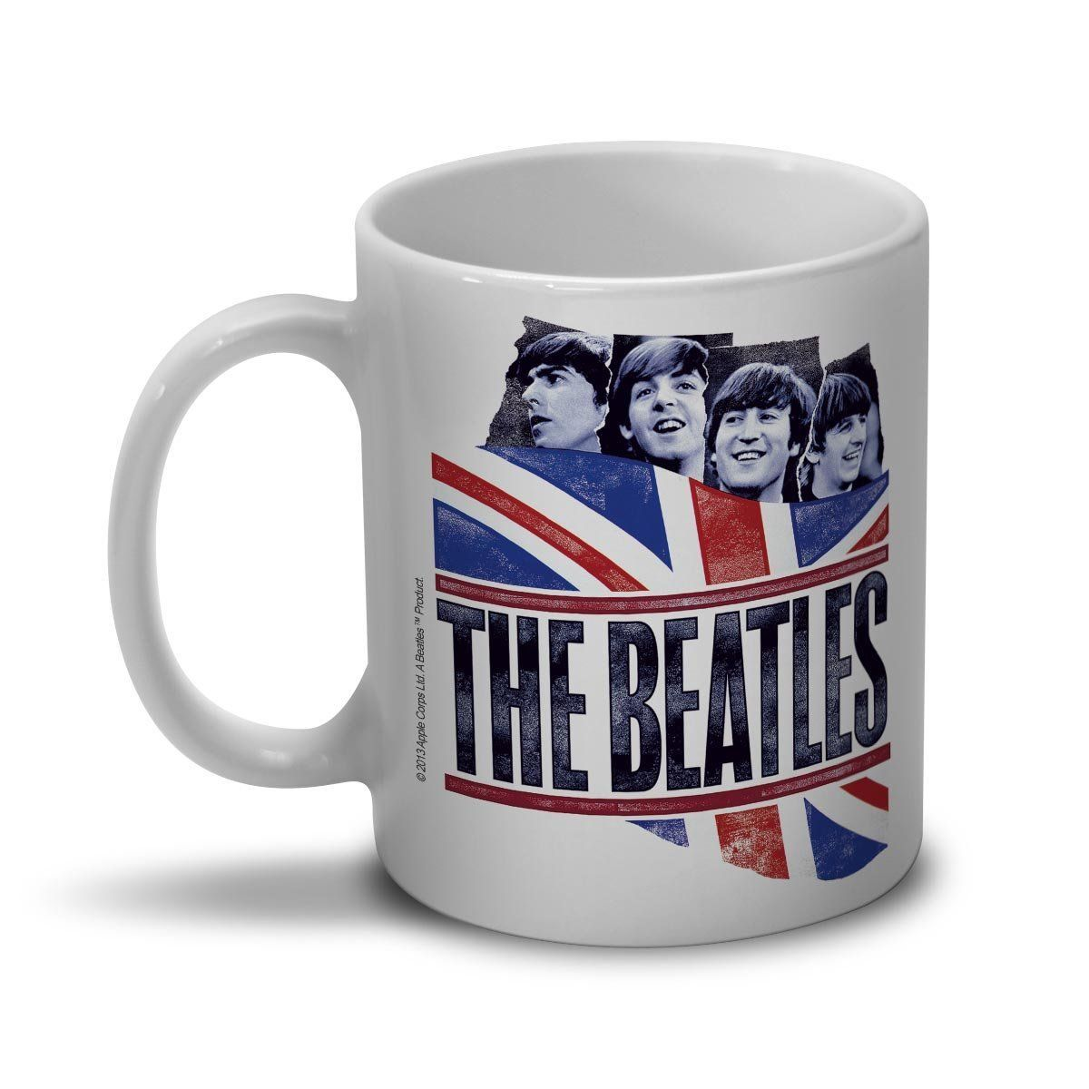Caneca The Beatles England Flag  - bandUP Store Marketplace