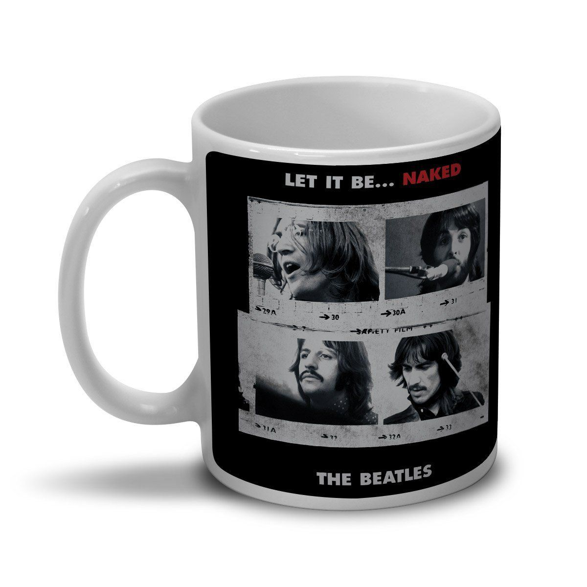 Caneca The Beatles Let It Be... Naked  - bandUP Store Marketplace