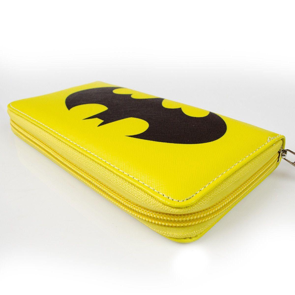Carteira Feminina com Ziper Batman Logo Oficial  - bandUP Store Marketplace