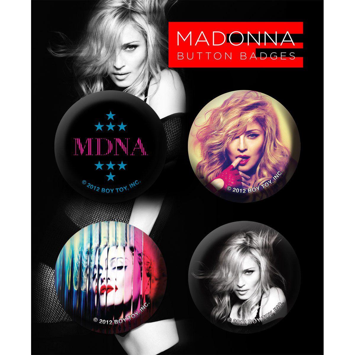 Cartela de Buttons Madonna Modelo 1  - bandUP Store Marketplace