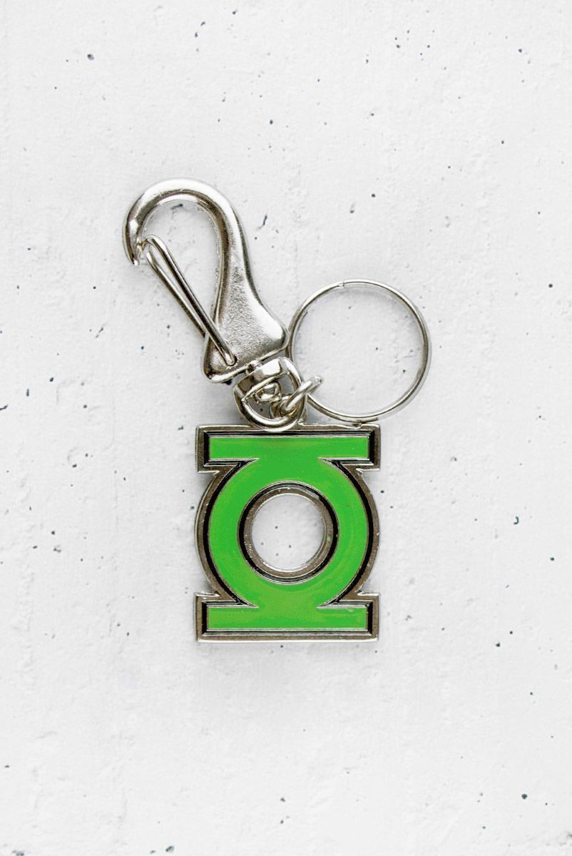 Chaveiro de Metal Lanterna Verde Logo  - bandUP Store Marketplace