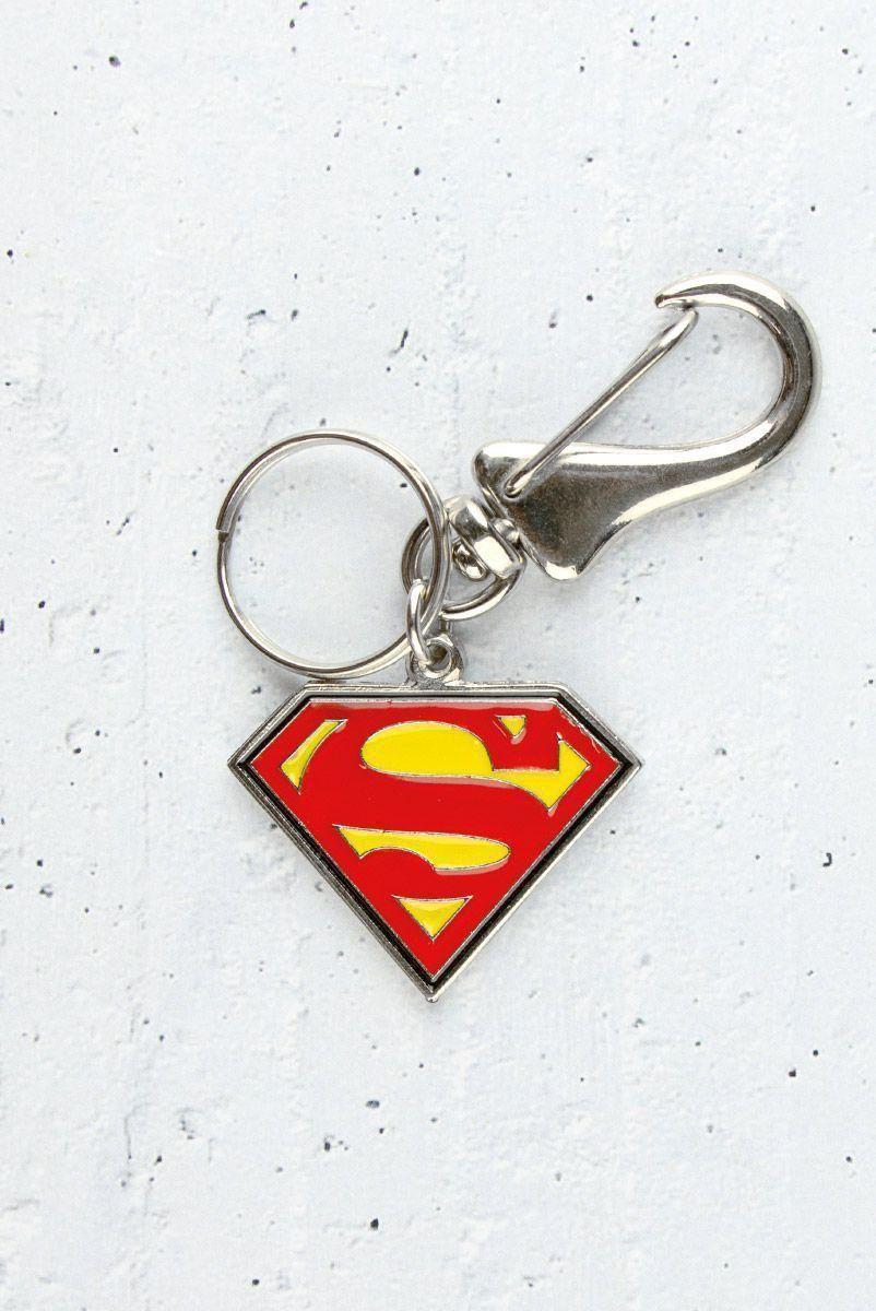 Chaveiro de Metal Superman Logo Oficial  - bandUP Store Marketplace