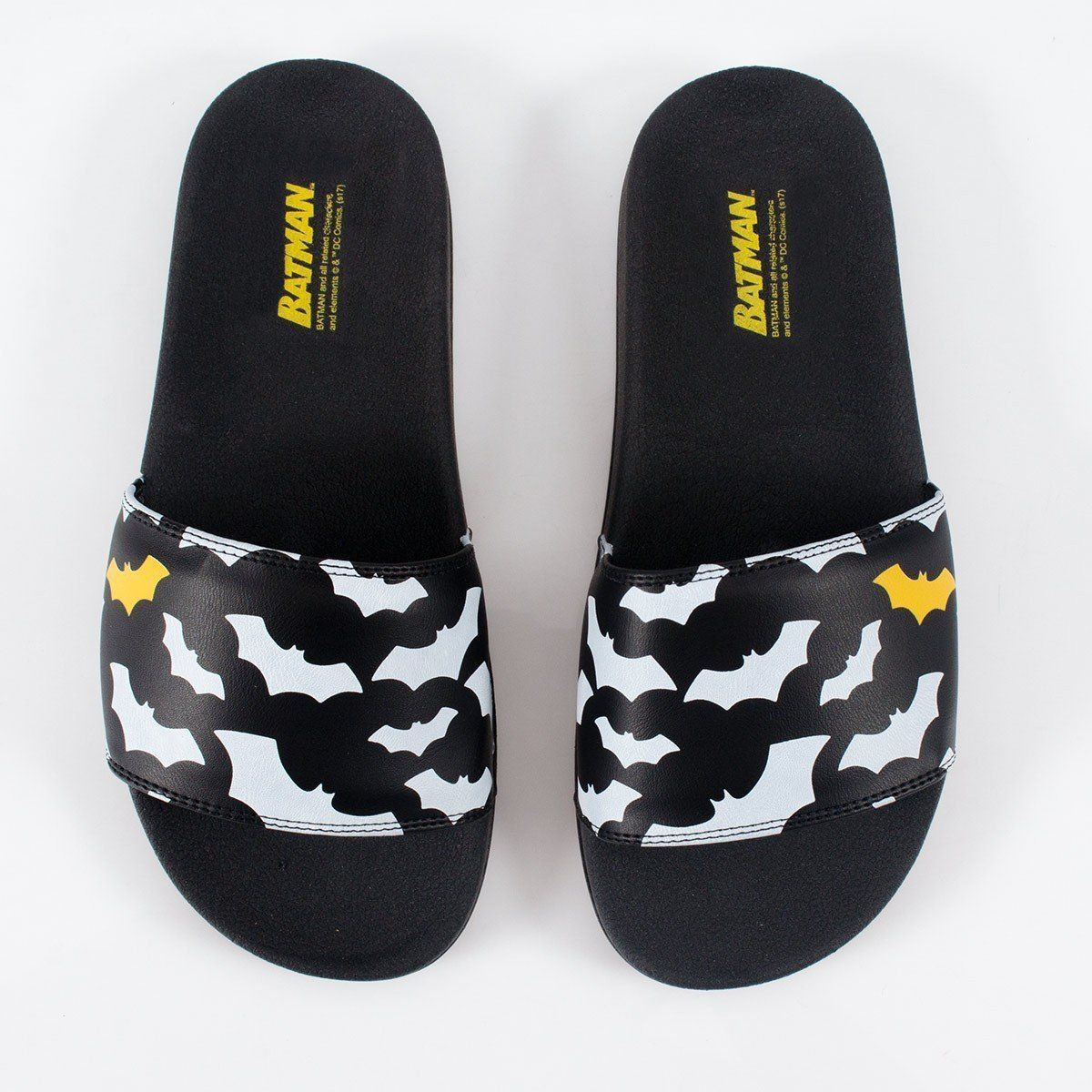 Chinelo Slide DC Comics Batman Bats  - bandUP Store Marketplace