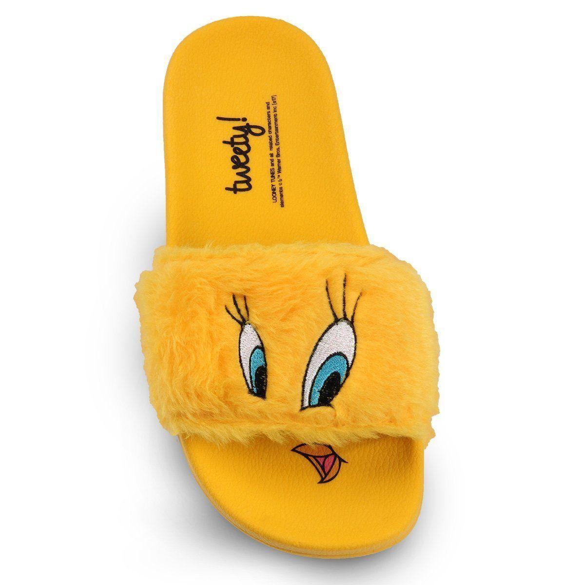 Chinelo Slide Looney Tunes Piu-Piu  - bandUP Store Marketplace