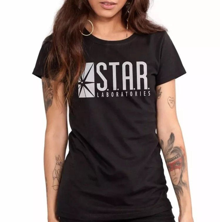 Combo 2 Camisetas Star Laboratories E Supergirl Oficial  - bandUP Store Marketplace