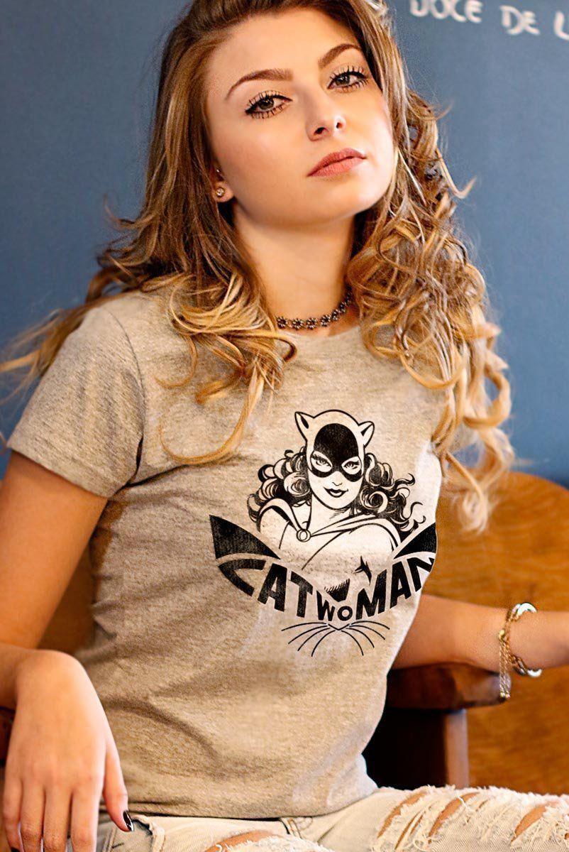 Combo 3 Camisetas Femininas Batgirl Wonder Woman E Catwoman  - bandUP Store Marketplace
