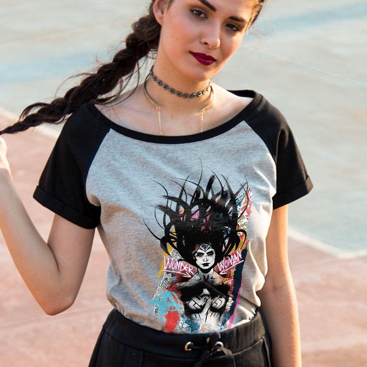 Combo Jaqueta Harley Quinn + 3 Camisetas Da Liga, Wonder Woman  - bandUP Store Marketplace