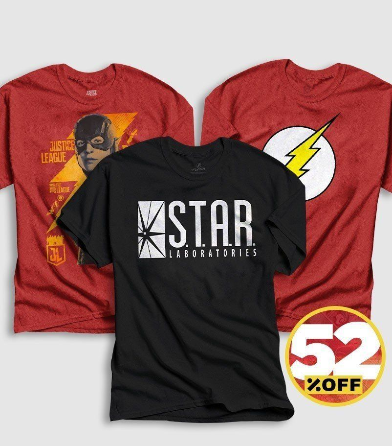 Combo Masculino The Flash Oficial  - bandUP Store Marketplace
