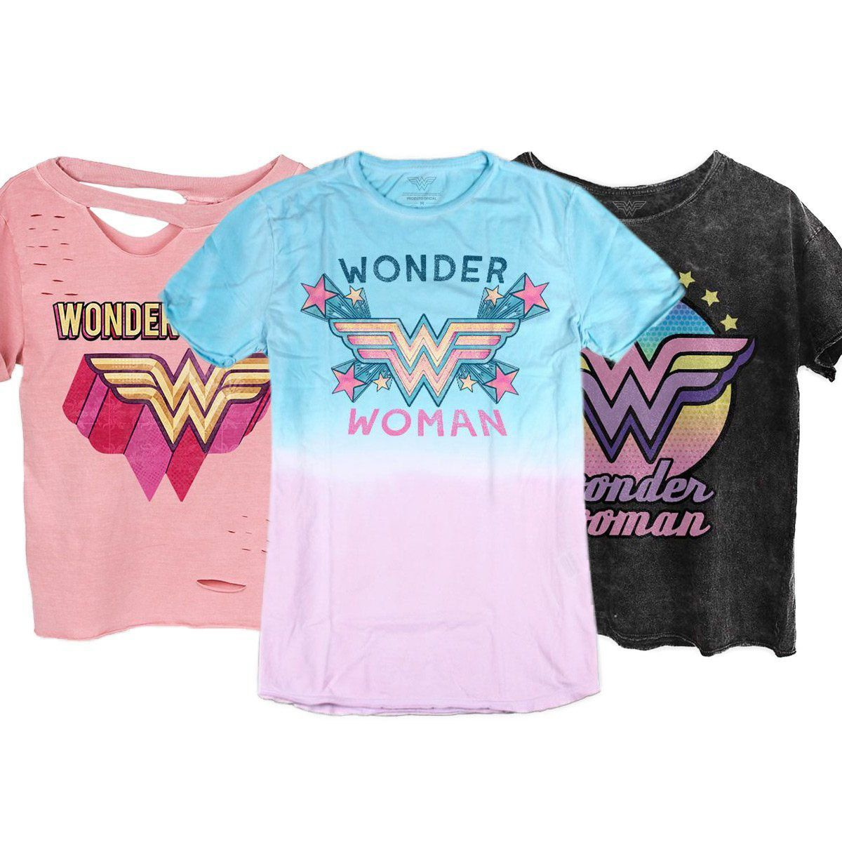 Combo Wonder Woman Camisetas Femininas  - bandUP Store Marketplace