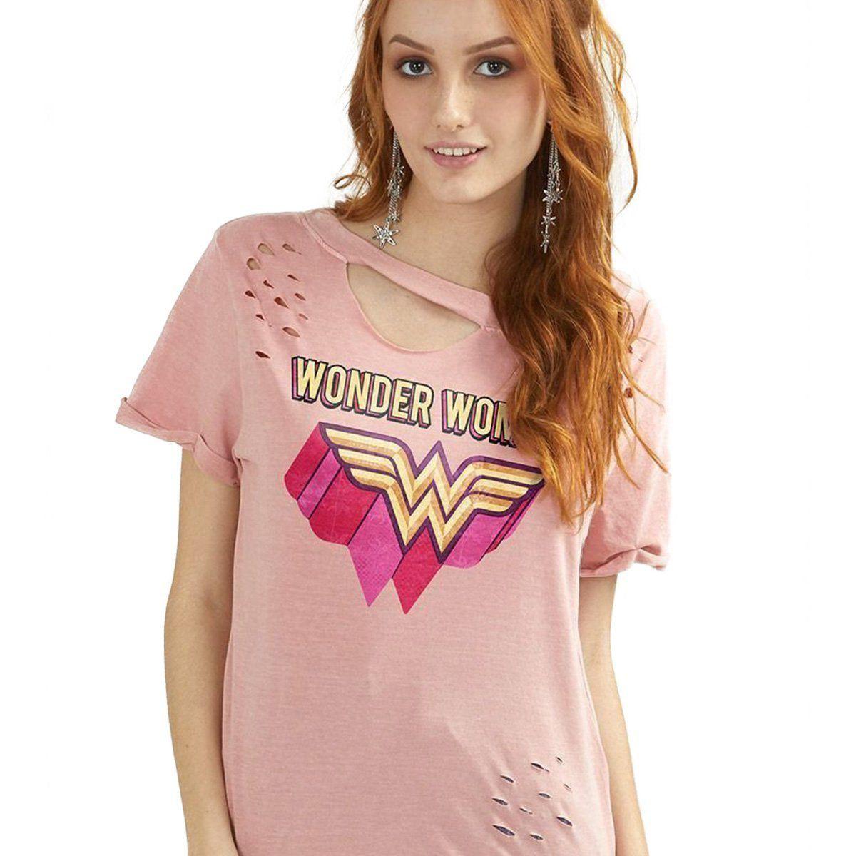 Combo Wonder Woman Camisetas Femininas  - bandUP Store Marketplace