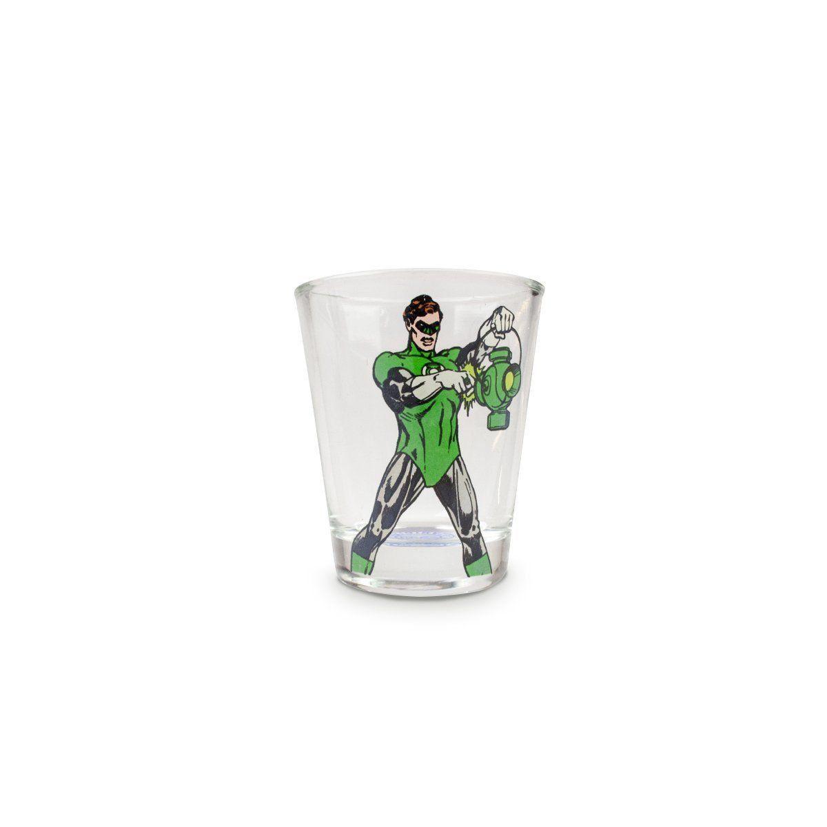 Conjunto com 4 Shots de Vidro DC Comics Heróis Oficial  - bandUP Store Marketplace