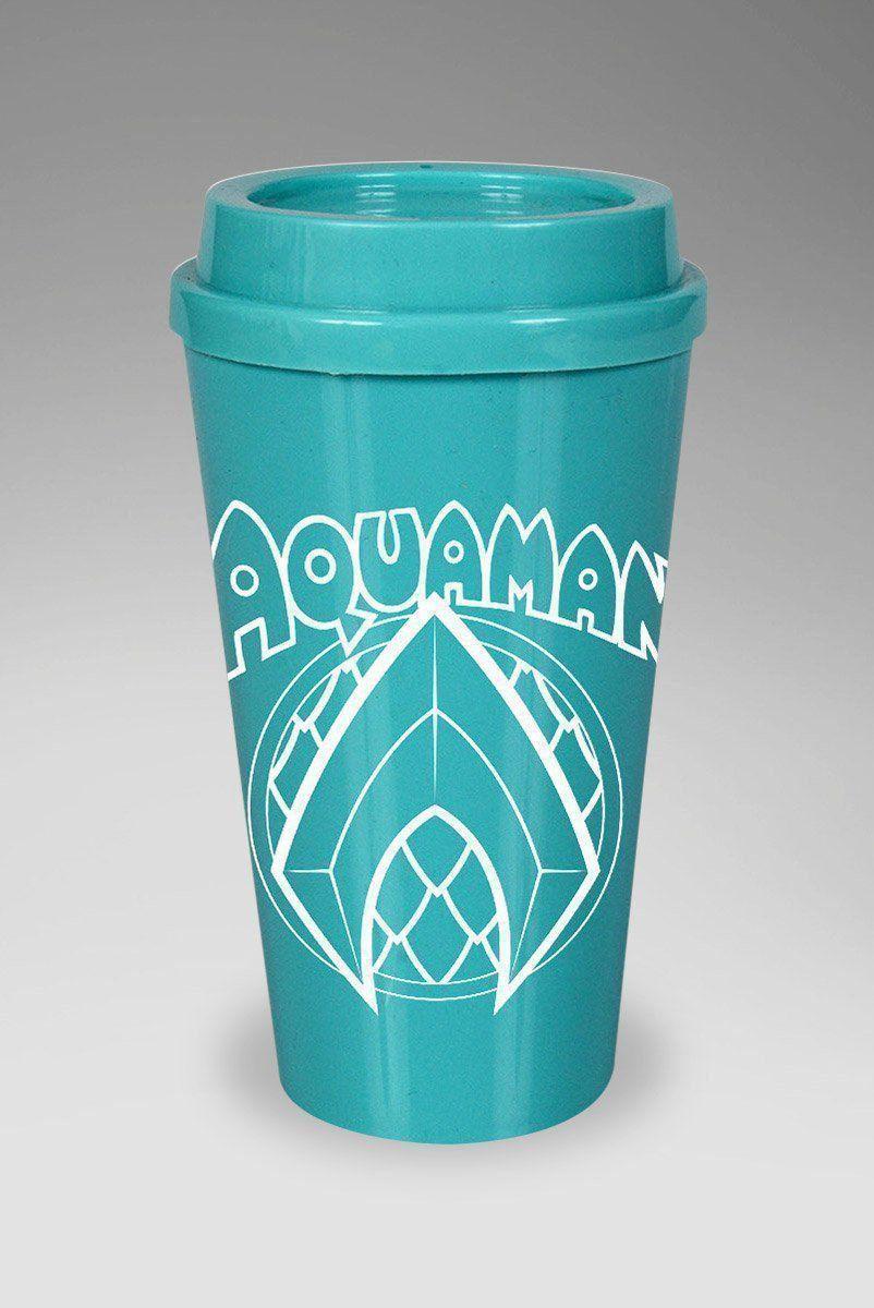 Copo Bucks Aquaman Logo Clássico  - bandUP Store Marketplace
