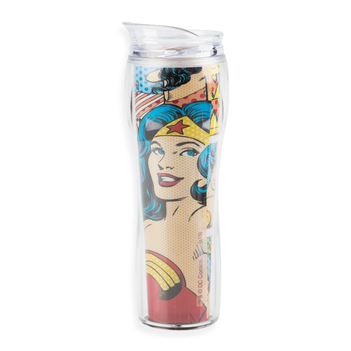 Copo de Acrílico Wonder Woman HQ  - bandUP Store Marketplace