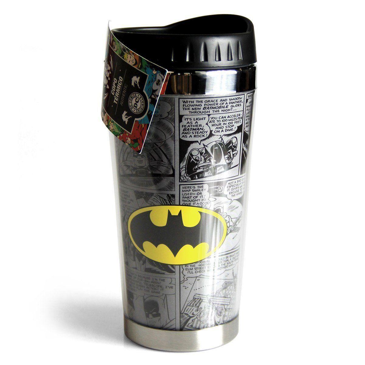Copo Térmico Batman Logo Oficial  - bandUP Store Marketplace