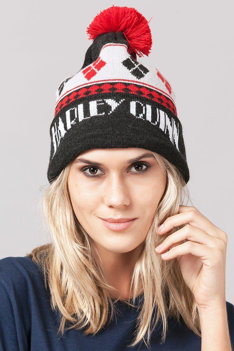 Gorro Harley Quinn Naipes  - bandUP Store Marketplace