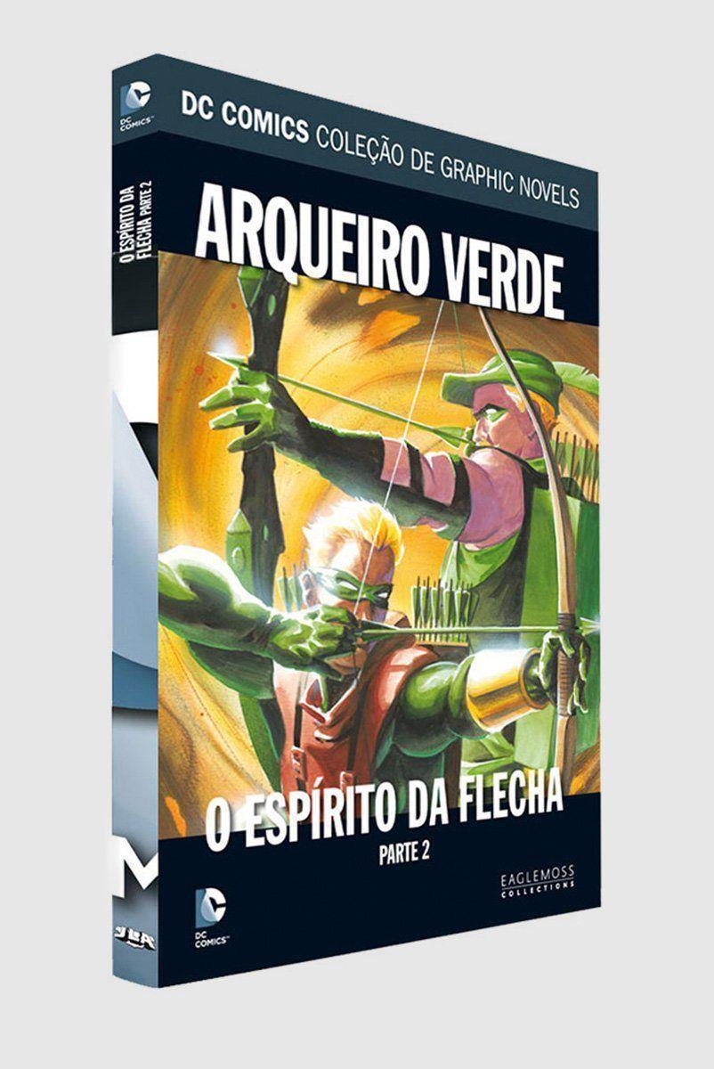 Graphic Novel Arqueiro Verde: O Espírito da Flecha - Parte 2 ed. 33  - bandUP Store Marketplace