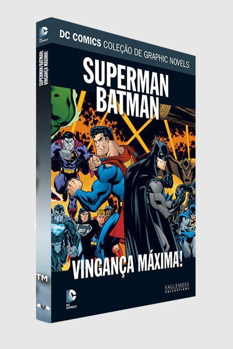 Graphic Novel Superman/Batman: Vingança Máxima ed. 37  - bandUP Store Marketplace